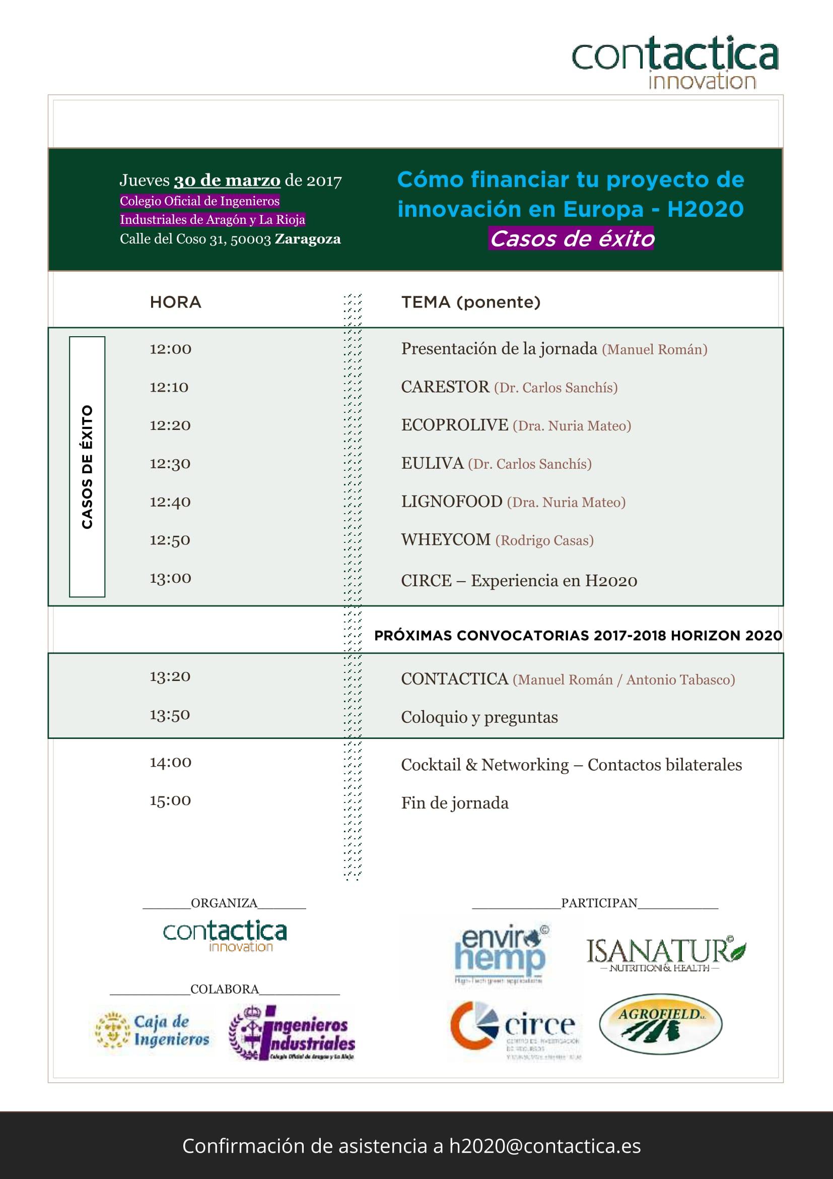 Jornada Zaragoza COIIAR_20170330_agenda_AAG-1